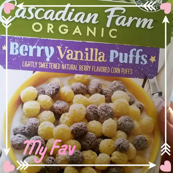 Cascadian Farm® Organic Berry Vanilla Puff Cereal 10.25 oz. Box uploaded by Amy M.