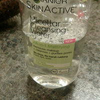 Garnier Skin Skinactive Micellar Cleansing Water All-In-1 Cleanser and Waterproof Makeup Remover uploaded by Alyssa M.