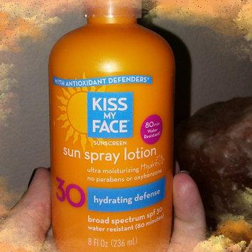Photo of Kiss My Face Sunscreen Sun Spray Lotion uploaded by Jillian D.