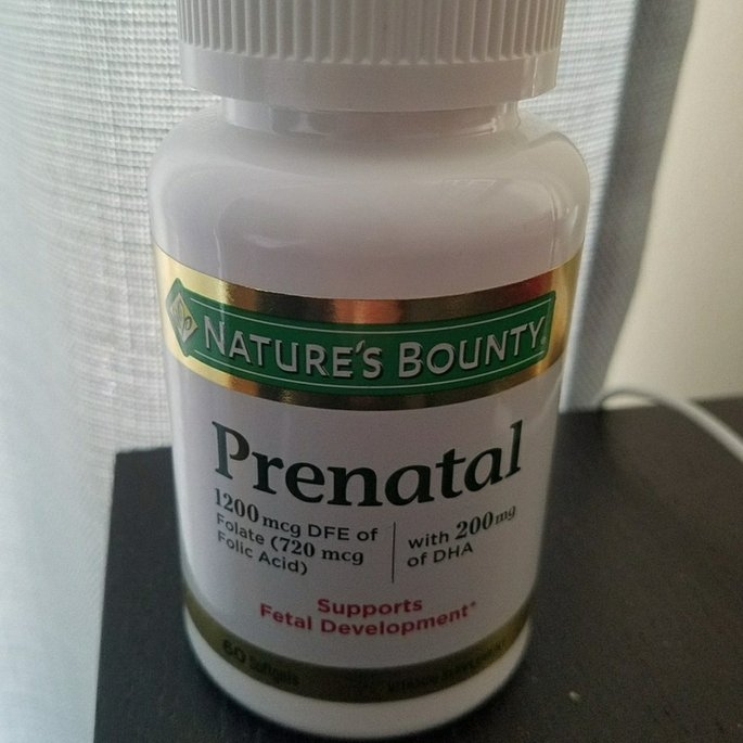 Nature's Bounty Your Life Prenatal Multivitamin uploaded by Maria V.