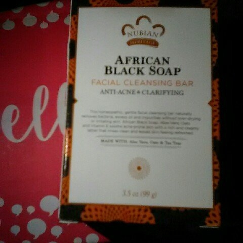 Nubian Heritage African Black Soap uploaded by Carlie F.