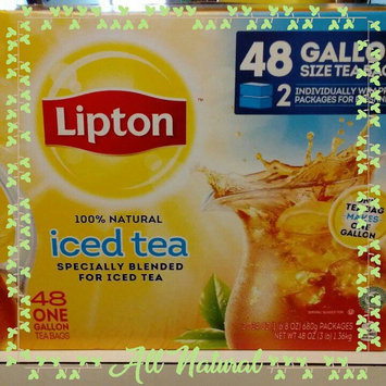Photo of Lipton Iced Tea Bags uploaded by Shelley G.