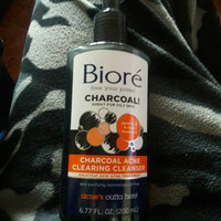 Biore® Charcoal Acne Clearing Cleanser uploaded by Yesica R.