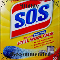 S.O.S Steel Wool Soap Pads - 10 CT uploaded by Amber L.