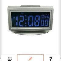 Geneva Platinum Colorations Alarm Clock uploaded by Maria Paz G.