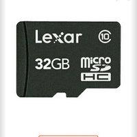 Lexar 32GB microSDHC Memory Card uploaded by Maria Paz G.
