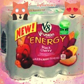Photo of V8® V-Fusion + Energy Peach Mango Flavored Vegetable & Fruit Juice uploaded by Tasha B.