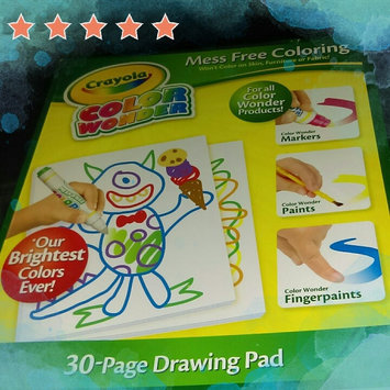 Photo of Crayola Color Wonder Drawing Paper-30 Sheets uploaded by Vanessa O.