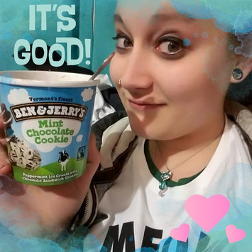 Ben & Jerry's Mint Chocolate Cookie Ice Cream uploaded by Jamie L.