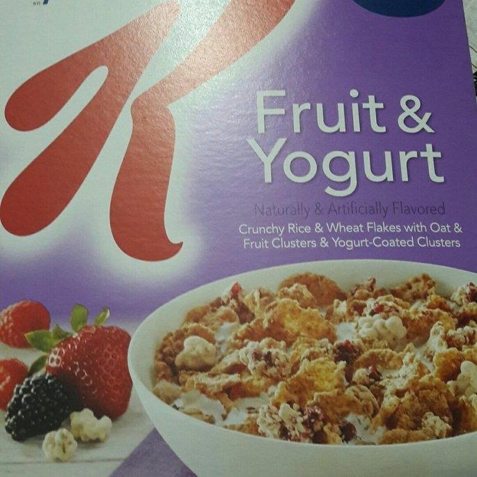 Kellogg's Special K Fruit & Yogurt Cereal uploaded by CLARIBEL L.