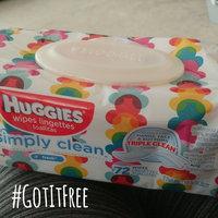 Huggies® Simply Clean Baby Wipes uploaded by Sarah J.
