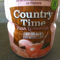 Country Time Pink Lemonade Sugar Sweetened Powdered Soft Drink Cannister uploaded by concetta b.