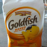 Pepperidge Farm Goldfish 100 Calorie Cheddar Snack Cracker Pouches - 5 CT uploaded by concetta b.