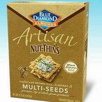 Blue Diamond Almonds Artisan Nut-Thins Multi-Seeds Cracker Snacks uploaded by Luz E D.
