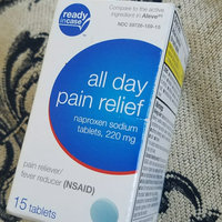 All Day Naproxen Sodium Pain Reliever/Fever Reducer Tablets, 220mg, 15 count uploaded by Priscilla D.