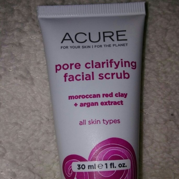 Acure Pore Minimizing Facial Scrub uploaded by Holly N.
