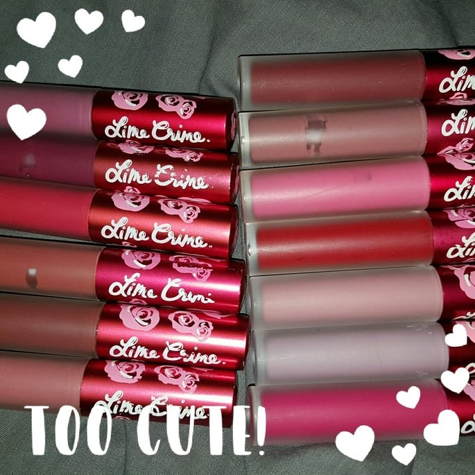 Lime Crime Matte Velvetines Lipstick uploaded by Danielle N.