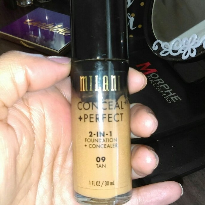 Milani Conceal + Perfect 2-in-1 Foundation + Concealer uploaded by Brookelynne T.