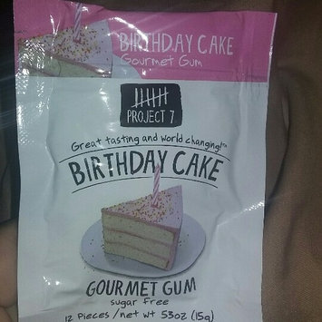 Photo of Project 7 Sugar Free Gum Birthday Cake - 12 CT uploaded by Christina A.