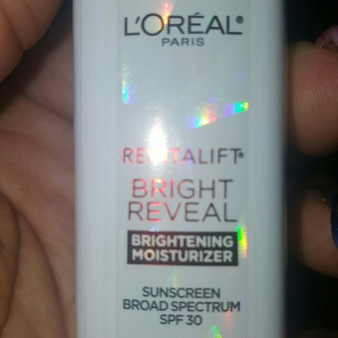 L'Oréal Paris Revitalift Bright Reveal SPF 30 Moisturizer uploaded by Coco G.