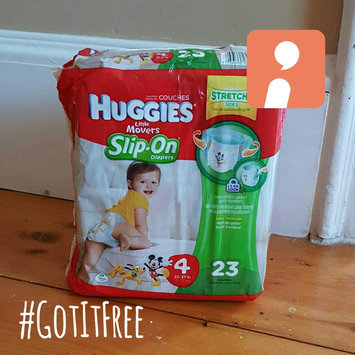 Huggies® Little Movers Slip-On Diaper Pants uploaded by Heather P.