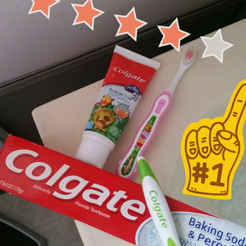 Photo of Colgate® Baking Soda & Peroxide WHITENING Toothpaste Brisk Mint uploaded by Cassandra S.