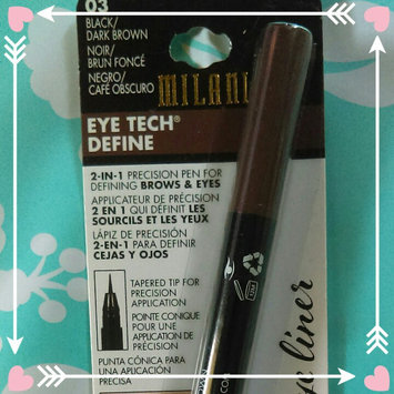 Milani Eye Tech Define 2-in-1 Brow + Eyeliner Felt-Tip Pen, Black / Natural Taupe uploaded by Brookelynne T.