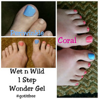Wet 'n' Wild Wet n Wild 1 Step Wonder Gel Nail Color, Coral Support, .45 oz uploaded by Andrea G.