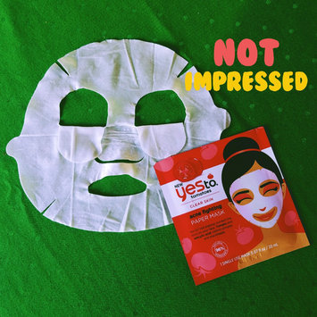 Yes to Tomatoes Clear Skin Acne Fighting Sheet Mask uploaded by Ashley S.