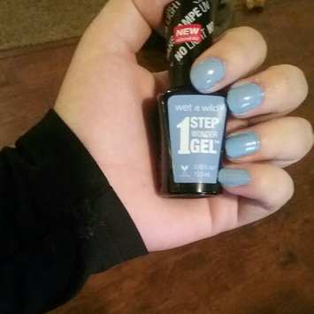 Wet 'n' Wild Wet n Wild 1 Step Wonder Gel Nail Color, Cyantific Method, .45 oz uploaded by Olivia M.