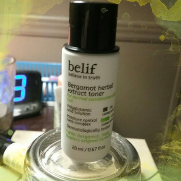 Photo of belif Bergamot Herbal Extract Toner 6.75 oz uploaded by Michelle D.