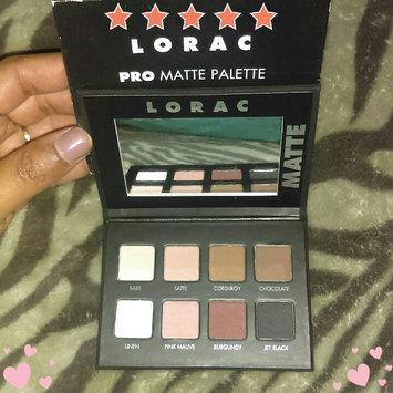 LORAC PRO Matte Eye Shadow Palette (Chocolate/Red/Latte) uploaded by Brookelynne T.