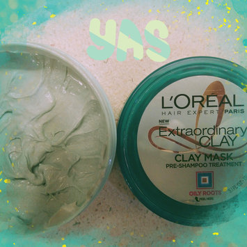 L'Oréal Extraordinary Clay Pre-Shampoo Treatment  Mask uploaded by Amber G.