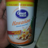 Great Value Hawaiian Automatic Spray Air Freshener Refill, 6.17 oz uploaded by Anita S.
