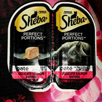 Sheba Perfect Portions Pate Premium Cat Food Salmon Entree uploaded by Breanne D.