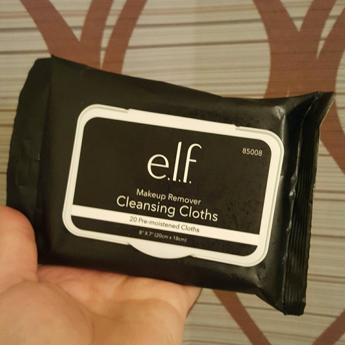 e.l.f. Studio Makeup Remover Cleansing Cloths uploaded by Candace H.