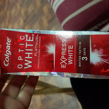 Photo of Colgate Optic White Express White Toothpaste uploaded by Iris R.