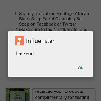Photo uploaded to Nubian Heritage African Black Soap by Claire E.