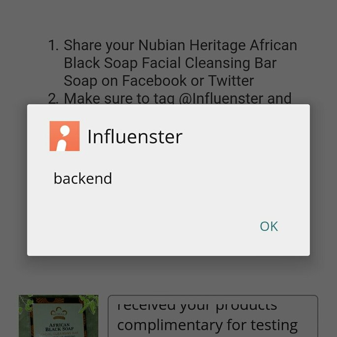 Nubian Heritage African Black Soap uploaded by Claire E.