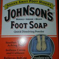 Johnson's Baby Johnson's Foot Soap, Packets - 4 ea uploaded by Anita S.