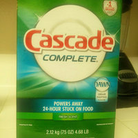 Cascade Complete 2-in-1 ActionPacs Dishwasher Detergent uploaded by Prerna G.