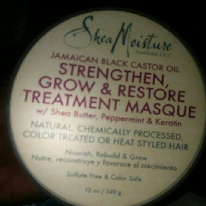 Sheamoisture SheaMoisture Strengthen, Grow & Restore Edge Treatment, Jamaican Black Castor Oil, 4 oz uploaded by eunice o.