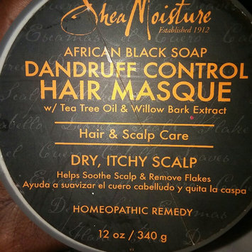 SheaMoisture Organic African Black Soap Purification Masque w/ Plantain Enzyme, Tea Tree & Willow Bark Extract uploaded by eunice o.