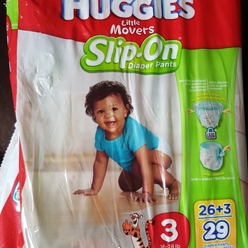 Huggies® Little Movers Slip-On Diaper Pants uploaded by Chelsea W.