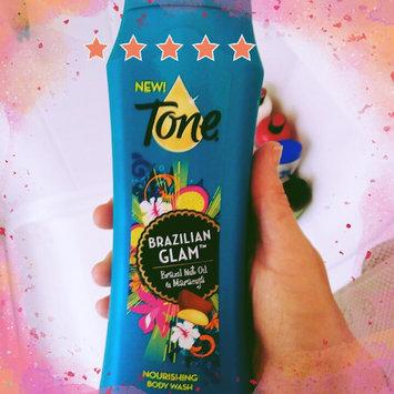 Tone® Brazilian Glam™ Brazil Nut Oil & Maracuja Nourishing Body Wash 16 fl. oz. Bottle uploaded by Christina C.