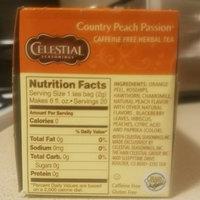 Celestial Seasonings Country Peach Passion Caffeine Free Herbal Tea - 20 CT uploaded by Alana N.