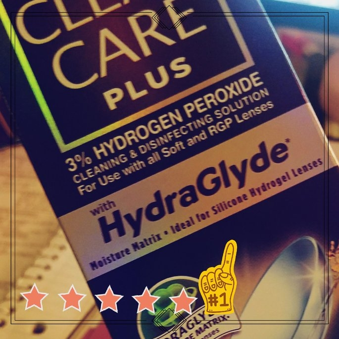 Clear Care Plus HydraGlyde Cleaning and Disinfecting Solution, 12 oz uploaded by OnDeane J.