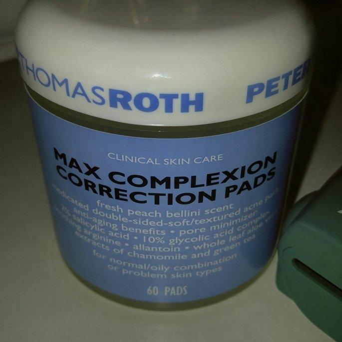 Peter Thomas Roth Max Complexion Correction PadsTM (60 Pads) uploaded by Cristina J.