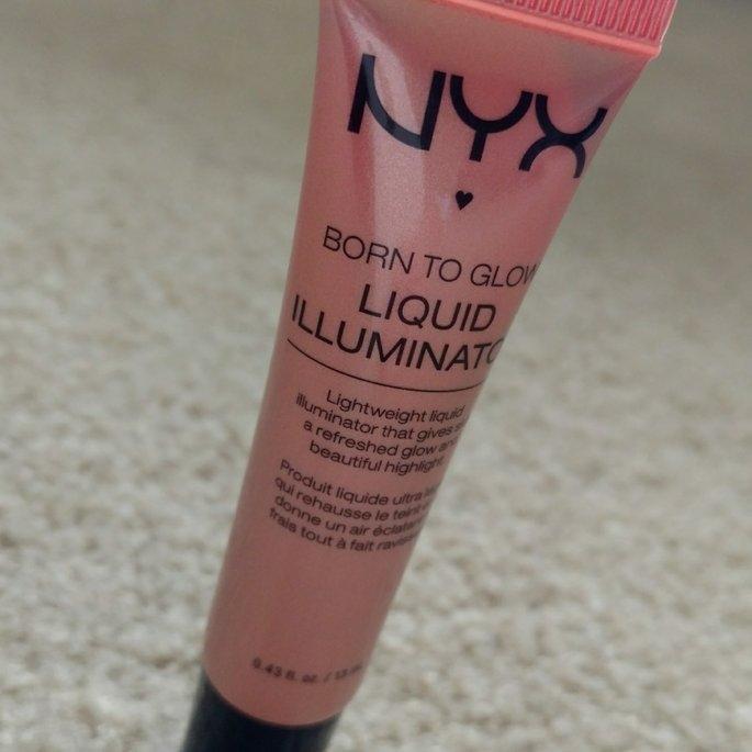 NYX Cosmetics Born to Glow Liquid Illuminator uploaded by Barbara d.