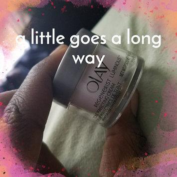 Photo of Olay Regenerist Luminous Skin Tone Perfecting Cream uploaded by Tara G.